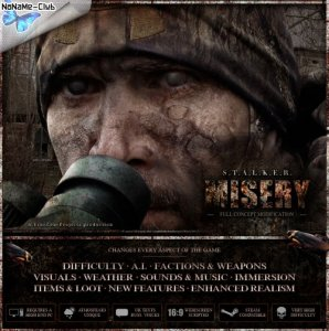 S.T.A.L.K.E.R.: Call Of Pripyat - MISERY 2.1 Beta (2014) PC | Mod