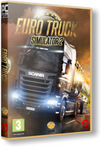 Euro Truck Simulator 2: Gold Bundle [v 1.9.13s + 3 DLC] (2013) PC | RePack
