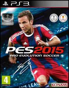 PES 2015 / Pro Evolution Soccer 2015 (2014) PS3