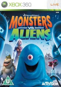 Monsters vs Aliens (2009) XBOX360