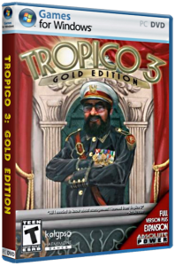 Тропико 3: Золотое издание / Tropico 3: Gold Edition (2009) PC | RePack от qoob