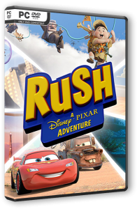 Rush: A Disney Pixar Adventure (2017) PC | RePack от SpaceX